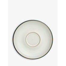Buy Denby Azure Saucer, Dia.8.25cm, White Online at johnlewis.com
