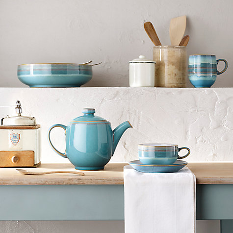 Buy Denby Azure Teapot, 1L Online at johnlewis.com
