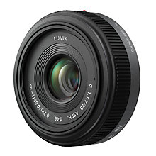 Buy Panasonic H-H020 Compact System Camera 20mm Pancake Lens Online at johnlewis.com