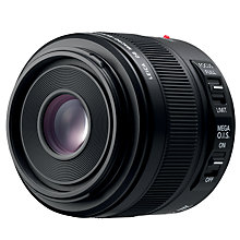 Buy Panasonic H-ES045E 45mm f/2.8 ASPH Compact System Camera Macro Lens with MEGA OIS Online at johnlewis.com