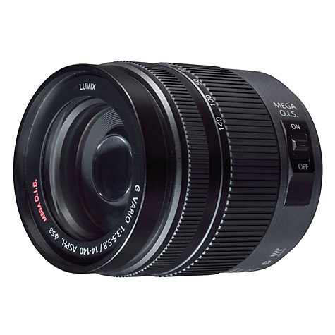 Buy Panasonic H-VS014140E 14-140mm f/4.0-5.8 Compact System Camera HD Movie Lens Online at johnlewis.com