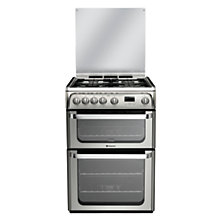 Buy Hotpoint HUG61X Ultima Gas Cooker, Stainless Steel Online at johnlewis.com
