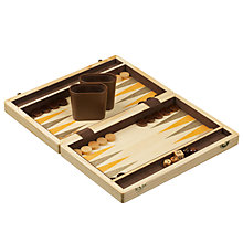 Buy John Lewis Wooden Backgammon Set Online at johnlewis.com