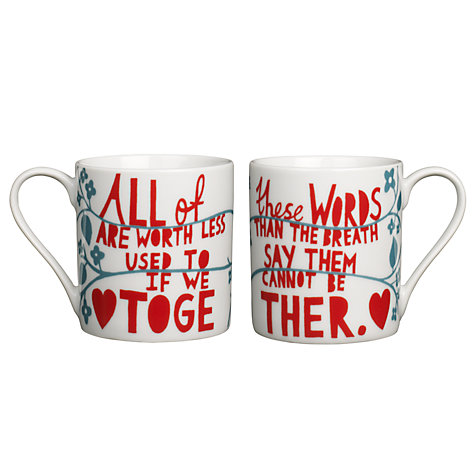 Buy Rob Ryan Mug Set Online at johnlewis.com