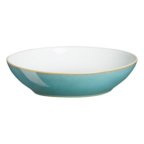 Buy Denby Azure Pasta Bowl, Blue, Dia.21.5cm Online at johnlewis.com