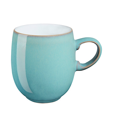 Buy Denby Azure Curve Mug, Large Online at johnlewis.com
