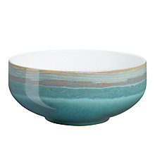 Buy Denby Azure Coast Soup/Cereal Bowl, Blue, Dia.15.5cm Online at johnlewis.com