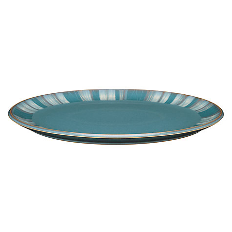 Buy Denby Azure Coast Oval Platter, 36cm Online at johnlewis.com