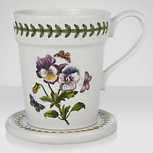 Buy Portmeirion Botanic Garden Mug & Coaster Set Online at johnlewis.com