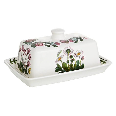 Buy Portmeirion Botanic Garden Covered Butter Online at johnlewis.com