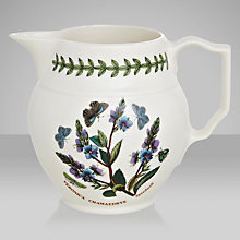 Buy Portmerion Botanic Garden Staffordshire Jug, 0.6L Online at johnlewis.com