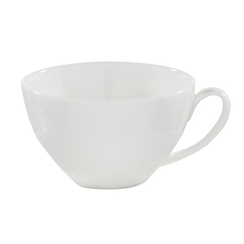 Buy Denby White Bone China Teacup Online at johnlewis.com