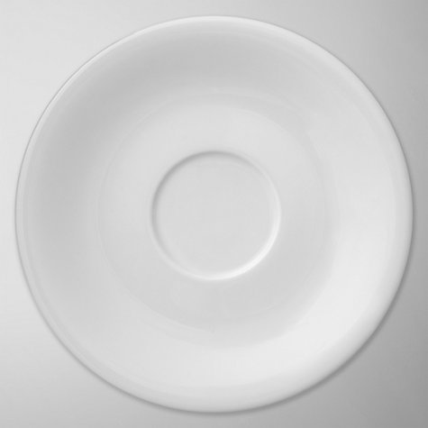 Buy Denby White Bone China Tea Saucer, Dia.9.2cm, White Online at johnlewis.com
