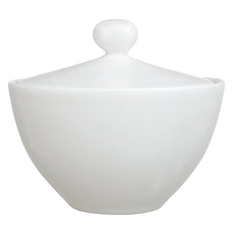 Buy Denby White Bone China Covered Sugar Online at johnlewis.com