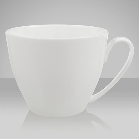 Buy Denby White Bone China Mug, Small Online at johnlewis.com