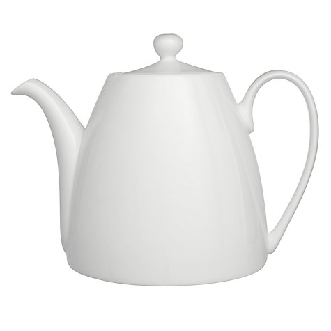 Buy Denby White Bone China Teapot, 1.1L Online at johnlewis.com
