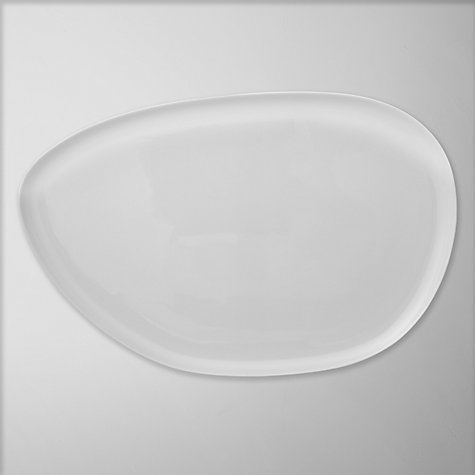 Buy Denby White Bone China Serving Platter, 40cm Online at johnlewis.com