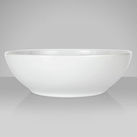 Buy Denby White Bone China Soup/Cereal Bowl, Dia.15.5cm Online at johnlewis.com