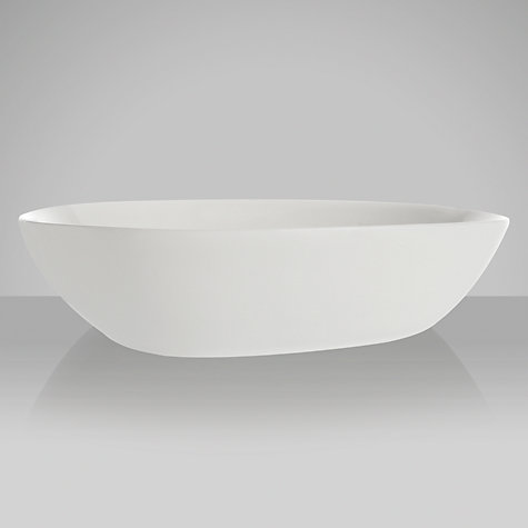Buy Denby White Bone China Serving Dish, Medium Online at johnlewis.com