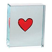 Buy Spaceform Red Heart Paperweight Online at johnlewis.com