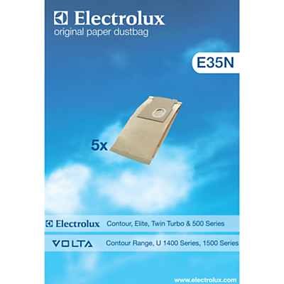 Electrolux E35N Vacuum Cleaner Bags, Pack of 5