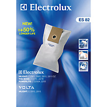 Buy Electrolux ES82 Filter Vacuum Cleaner Bags, Pack of 4 Online at johnlewis.com