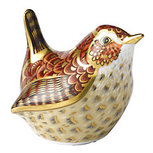 Buy Royal Crown Derby Jenny Wren Paperweight Online at johnlewis.com