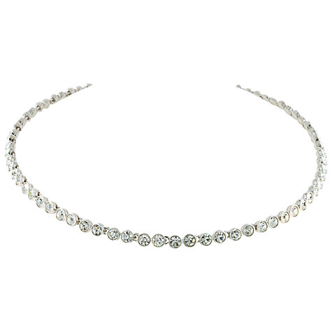 Buy Cachet London Classic Crystal Tennis Necklace Online at johnlewis.com