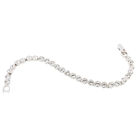 Buy Cachet London Rhodium Plated Tennis Bracelet Online at johnlewis.com