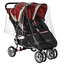 Buy Baby Jogger Double Raincover for City Mini Online at johnlewis.com