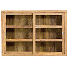 Buy John Lewis Batamba Display Cabinet Online at johnlewis.com