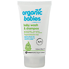 Buy Organic Baby No Scent Baby Wash and Shampoo, 150ml Online at johnlewis.com