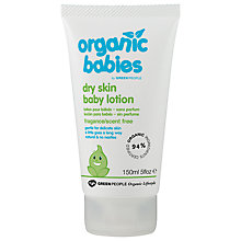 Buy Organic Baby No Scent Baby Lotion, 150ml Online at johnlewis.com