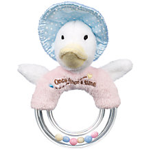 Buy Beatrix Potter Character Ring Rattle, Assorted Online at johnlewis.com