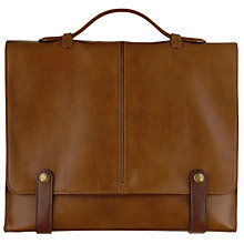 Buy Hidesign Eton Leather Workbag, Tan Online at johnlewis.com