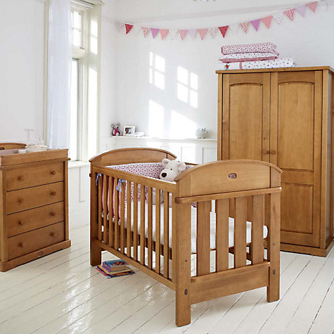 Buy Boori Madison Cotbed, Heritage Teak Online at johnlewis.com