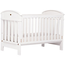 Buy Boori Madison Cotbed, White Online at johnlewis.com