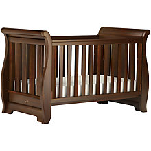Buy Boori Sleigh Cotbed, English Oak Online at johnlewis.com