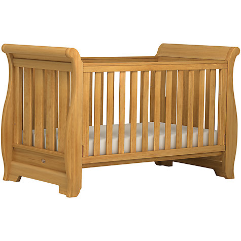Buy Boori Sleigh Cotbed, Heritage Teak Online at johnlewis.com