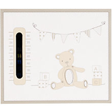 Buy John Lewis ABC Bear Nursery Thermometer Online at johnlewis.com