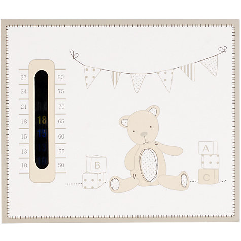 Buy John Lewis Baby ABC Bear Nursery Thermometer Online at johnlewis.com