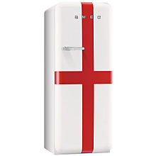 Buy Smeg FAB28QSG Retro Fridge with Freezer Compartment, A+ Energy Rating, 60cm Wide, English Flag Online at johnlewis.com