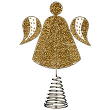 Buy John Lewis Beaded Angel Tree Decoration Online at johnlewis.com