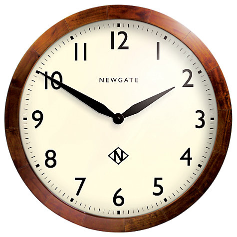 Buy Newgate Billingsgate Wall Clock Online at johnlewis.com