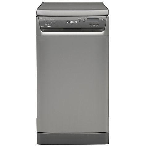 Buy Hotpoint SDD910G Slimline Dishwasher, Graphite Online at johnlewis.com