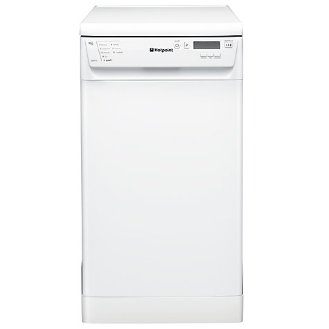 Buy Hotpoint SDD910P Slimline Dishwasher, White Online at johnlewis.com