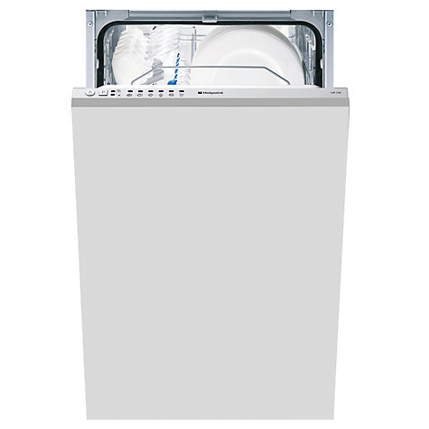 Buy Hotpoint LST216A Integrated Slimline Dishwasher Online at johnlewis.com