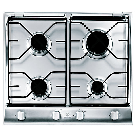 Buy Indesit IP640SIX Gas Hob, Stainless Steel Online at johnlewis.com