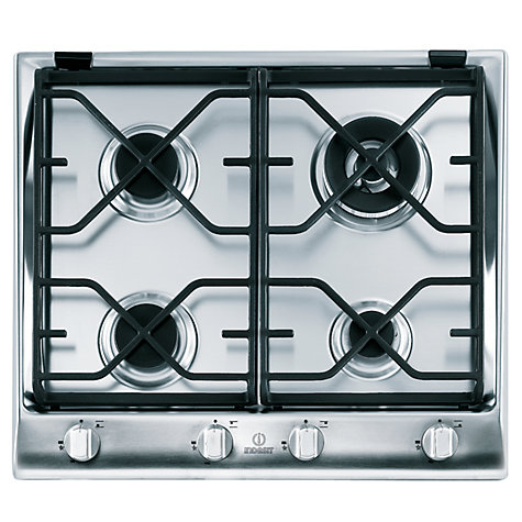 Buy Indesit IP641SCIX Gas Hob, Stainless Steel Online at johnlewis.com