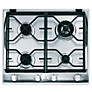 Indesit IP641SCIX Gas Hob, Stainless Steel